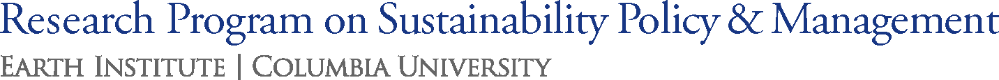 Research Program on Sustainability Policy & Management (SPM) logo